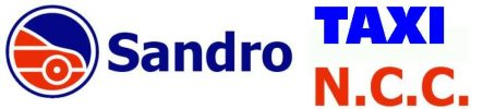 Sandro Taxi N.C.C. Logo